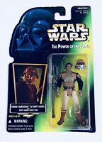 Lando Calrissian Skiff Guard Star Wars POTF Power of The Force Green Card Sealed