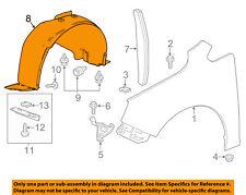 Buick GM OEM 12-16 Verano-Front Fender Liner Splash Shield Right 22944975