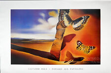 SALVADOR DALI - PAYSAGE AUX PAPILLONS - BUTTERFLY POSTER (61x91cm)  NEW LICENSED