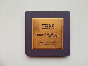 IBM 6x86 P150+ 6X86-2V2P150GE Vintage CPU, GOLD