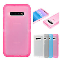 For Samsung Galaxy S10e S10 Plus Clear Case Cover Shockproof Heavy Duty Hybrid