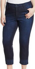 Not Your Daughters Jeans NYDJ Tummy Tuck Slim Leg Ankle Jeans Size 14W
