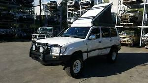 TOYOTA LANDCRUISER 100 SERIES 04/98-10/07 FOLD UP ROOF TOP TENT - FITTINGS SURFA