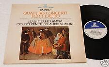 TARTINI:LP-4 CONCERTI PER FLAUTO-ORIG.ITALY 1977 NM