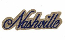 NASHVILLE PATCH, NASHVILLE TENNESSEE EMBROIDERED APPLIQUE PATCH (NW-644)