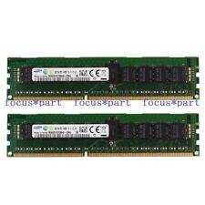 Samsung 16GB 1Rx4 2x8GB PC3-14900R DDR3 1866Mhz ECC REG Registered Server Memory