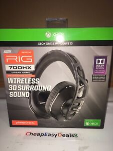 Plantronics RIG 700HX Xbox One & Windows 10 Wireless 3D Surround Sound Headset