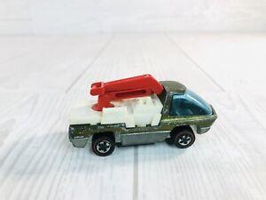 1969 Hot Wheels Redline Heavyweights Snorkel Truck (No Bucket) Olive Green