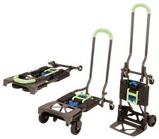 Cosco Shifter Multi Position Folding Hand Truck and Cart in Black & Green New