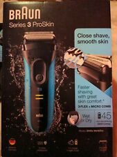Braun - Series 3 - ProSkin 3040s - Wet & Dry Electric Shaver - New