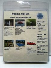 SteelStick epoxy Putty 2 OZ steel reinforced