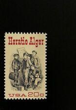 1982 20c Horatio Alger, Newspaper Scott 2010 Mint F/VF NH