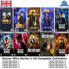 Doctor Who BBC TV Series 1 - 10 Complete Collection 1 2 3 4 5 6 7 8 9 10 New DVD