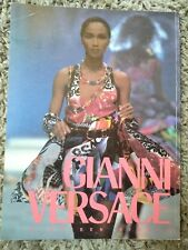 Gianni VERSACE 1990 No 18 Women Spring Summer Collection Book Magazine CATALOGUE