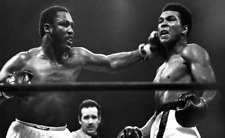 Joe Frazier  knocks out Muhammad Ali Poster 13x19