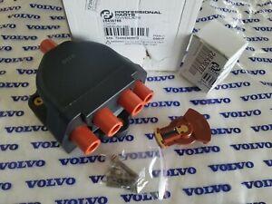 Volvo 740 745 760 780 940 & Penta AQ171 & 251A - Distributor Cap & Rotor