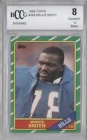 1986 Topps #389 Bruce Smith BCCG Excellent Buffalo Bills RC Rookie Football Card