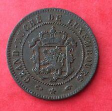 Luxembourg - Très Jolie monnaie de  5 Centimes 1855 A