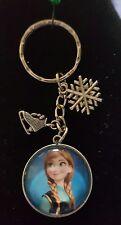 Frozen Princess Anna Keyring or Bag Charm Gift Disney Snow Flake Ice Skates