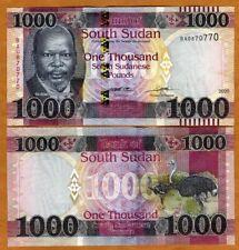 South Sudan, 1000 Pounds, 2020, P-new, New Denomination UNC