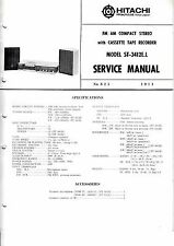 INSTRUCCIONES MANUAL DE SERVICIO PARA Hitachi st-3412