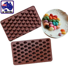 Mini Handmade Coffee Bean Silicone Mold Chocolate Jelly Ice Tray Mould HKIM23819