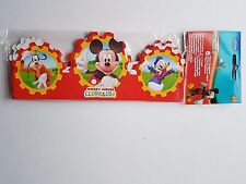 Pack of 6 Mickey Mouse Clubhouse Headbands - Mickey and Friends Paper Party Hats