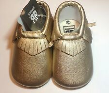 Baby Fashion Faux Leather Moccasin shoes 12-18 months; Multicolors/Styles