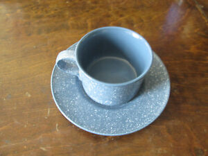 Mikasa ULTRASTONE COUNTRY BLUE Cup & Saucer  CU501