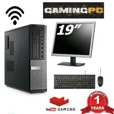 DESIGN AND GAMING WINDOWS 10 PC FAST I5 PROCESSOR 8 GB RAM MASSIVE 1TB HDD WIFI
