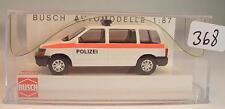 Busch 1/87 Nr. 44610 Chrysler Voyager Van Kombi Polizei Österreich OVP #368