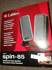Labtec Spin-85 Multi-purpose Stereo Speakers - NEW
