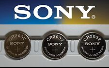 **Save $1, Buy Any 2 Packs** 3 pieces SONY CR2032, CR 2032 3v Lithium battery