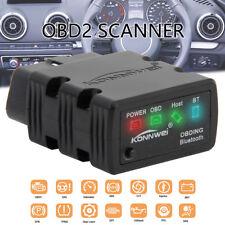 ELM327 Bluetooth OBD2 OBDII Car Code Reader Diagnostic Scanner Tool For Android