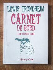 CARNET DE BORD 1-10 DECEMBRE 2001 TRONDHEIM EO BE/TBE (D23)