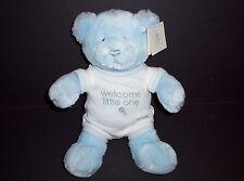 Baby Gund 59708 Welcome Little One Plush Teddy Bear Hugs Blue Stuffed Animal