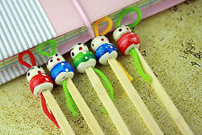 chinese doll spoon earwax remover cleaner ear tool safety 5pc bamboo earpick