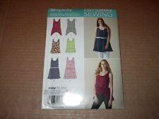 Simplicity Pattern 1362 Misses' Loose-Fitting Mini Dress or Tunic  XXS ~ XXL Unc