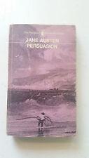 jane austen penguin '65 persuasion paperback pb el5 last novel uk w/a memoir !!