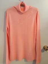 NWOT Ladies size 8-10 (S) Gorgeous Apricot Winter Top by Merien Hall