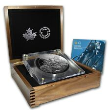 Canada 2014 - 500$ Canadian Monuments National Aboriginal Veterans - 5 kg Silver