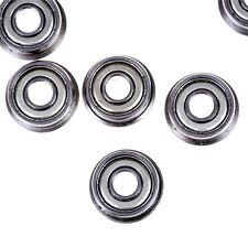 10PCS Flange Ball Bearing F608ZZ 8*22*7 mm Metric Flanged Bearing HGUK