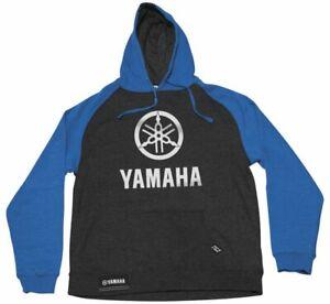 Men's Yamaha Stack Hoody Factory Effex XL Charcoal/Royal22-88206