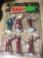 Lemax FIESTA DE LOS MUERTOS Spooky Town Village 6 Piece Set