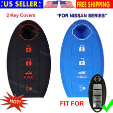 Silicone Protective Rubber Keyless Remote Cover Case Smart Shell for Nissan Key
