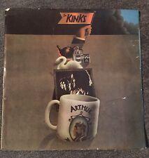 "THE KINKS ""Arthur Or The Decline"" UK Vinyl Album Import Record LP Pye 1st Press"