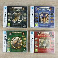Professor Layton DS Games Bundle - Curious Village Pand Box, Lost Future, Spectr