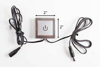 LEDupdates LED Touch Switch Dimmer for Under Cabinet LED Strip Tape Light Module