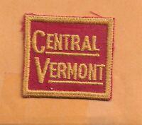 "CENTRAL VERMONT  RAILROAD PATCH 2 "" **"