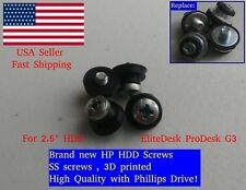 "4X HP 2.5"" HDD SDD Screws EliteDesk ProDesk G3 - Pro EliteOne G1 G2 511945-005"